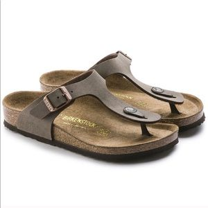 Birkenstock Sandals Thong Brown 240 Gizeh 37